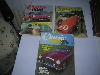 3 Thoroughbred Classic Cars Magazine - July 1979  March 1984 May 1984