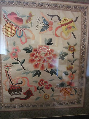 Vintage Chinese Silk Embroidery