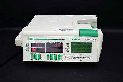 B Braun Outlook 100 Digital Safety Infusion System IV Pump 620-100