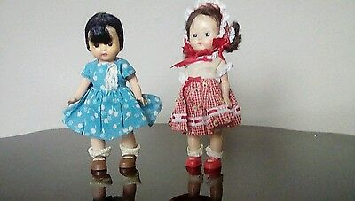 ginny type dolls Muffie and Ginger
