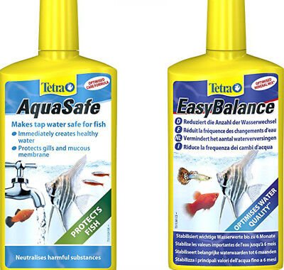 Tetra EasyBalance & AquaSafe TWIN PACK 100ml 250ml 500ml ANY SIZES