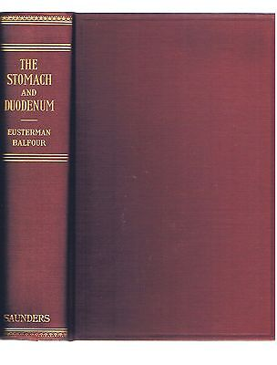 THE STOMACH & DUODENUM ~ RARE MEDICAL 1936 Ed ~ EXCELLENT COND