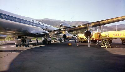 VARIG & SHELL OIL,   c1960s,  Large  5x4 inch  Negative & photo