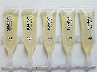 Sunmaxx Concentrates Ampulle Level 3 - 5 x 2,3 ml - Solariumkosmetik Ampullen