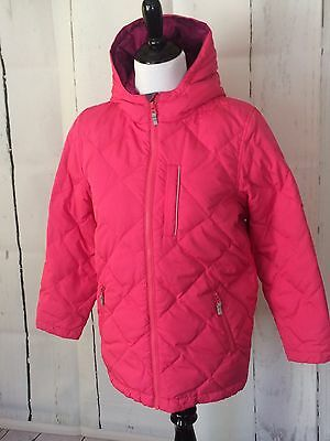 HANNA ANDERSSON Pink Down Puffer Winter jacket coat• Girl 150 (11-13 yrs)