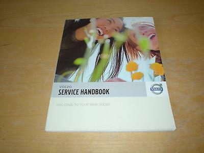 VOLVO SERVICE BOOK C30 V50 C70 V70 XC70 S80 XC90 Owners Manual History Handbook