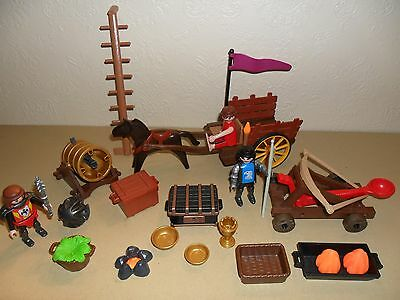 PLAYMOBIL KNIGHTS SIEGE SET (For castle)