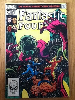 Fantastic Four issue 256 from July 1983 - postal discounts apply