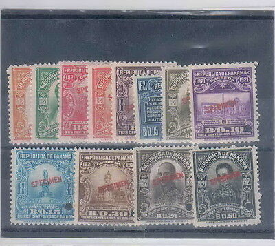 """pn35 PANAMA: """"CENTENARY of INDEPENDENCE"""", Sc. 220/31, complete set"""