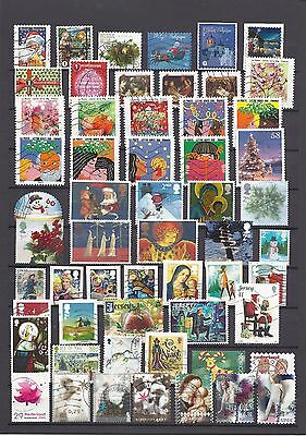 CHRISTMAS EUROPE BELGIUM FRANCE GB GERMANY IOM NL… all different used