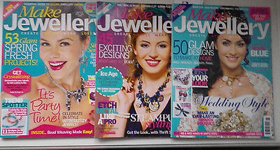 Let's Make Jewellery Bundle of 3 Issues from 2011 No Free Gifts