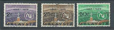 Malaya - 1965 - SG12 To SG14 - CV £ 2.75 - used