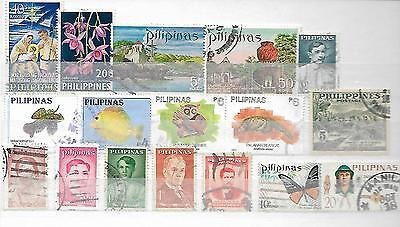Philippines Pilipinas Some Old Stamps From Albums + Stock Books 16200716