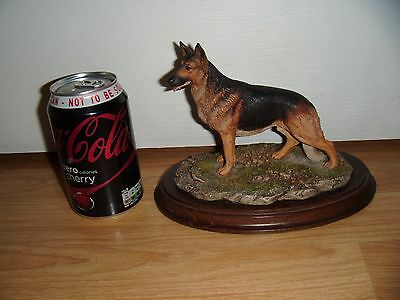 "Bborder Fine Arts German Shepherd Dog ~ Ca 188 ""alsation Standing"" ~ K. Sherwin"