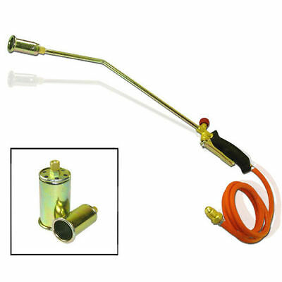 Propane Torch - Portable, 3 Nozzles - Snow Melter Ice Thaw Weed Burner Landscape