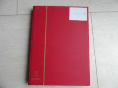 100's world stamps in large stock book