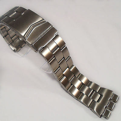 WATCH BRACELET to fit SWATCH Irony Chrono 19mm Quality Stainless Steel Brand New