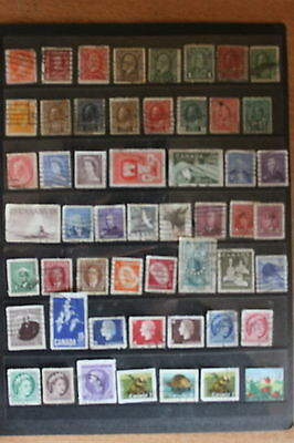 Collection of canada Stamps can001