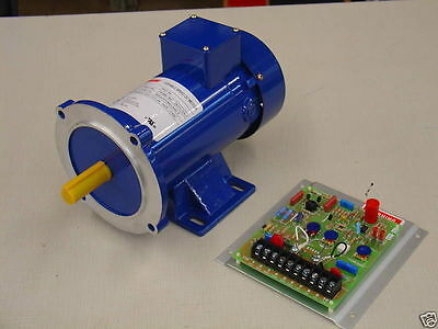 3/4 HP, 180 VDC, DC Motor and Variable Speed Control