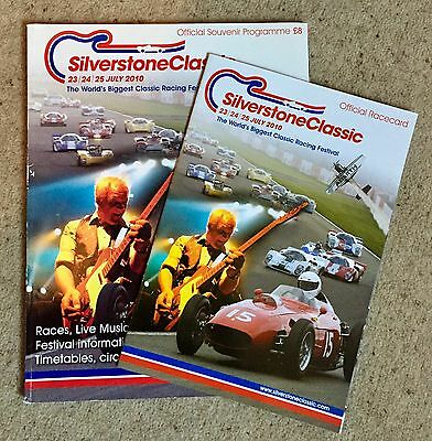 Silverstone Classic 2010 Official Race Programme And Race card