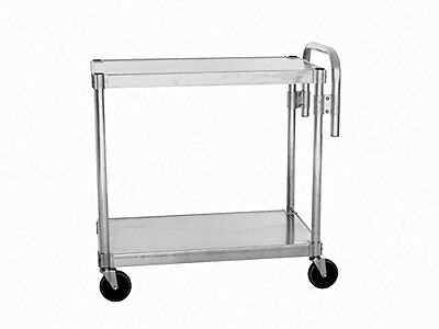 "Prairie View Ind. Aluminum Utility Cart 24"" x 48""  Two Tier NUC2448... 5/2017"