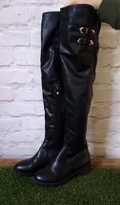 Over The Knee Boots Black 6