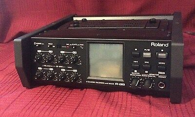 Roland R-88 8-Track Digital Recorder - Hardly Used At All!  Great Saving!