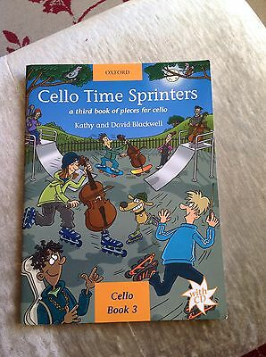 Time Sprinters , Book 3 For The Cello. With C.ds