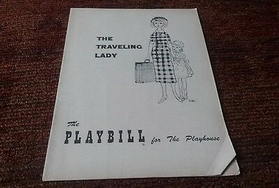 Kim Stanley the traveling lady opening night Broadway playbill 1954