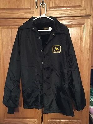 1980s John Deere Lined Jacket Large