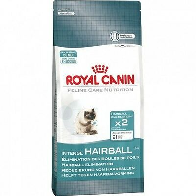 Royal Canin Intense Hairball Pienso para Gatos, Comida Gatitos y Alimento Gatos