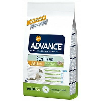 Advance Cat Sterilized Pienso para Gatos, Comida Gatitos y Alimento Gatos