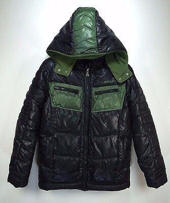 Guess Boys Size L 16-18 Puffer Hooded Coat        B6