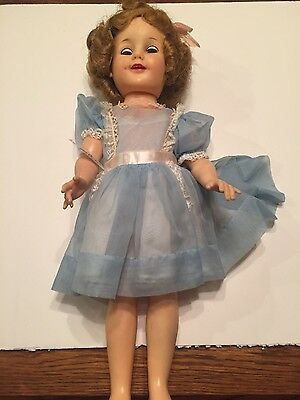 Vintage Ideal St-19 Shirley Temple Doll 18""