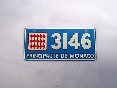 MONACO Wheaties Cereal License Plate #3146