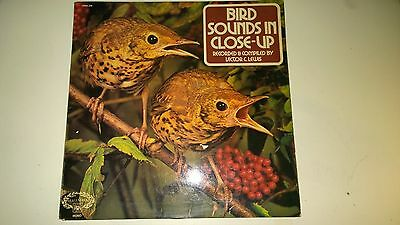 """Bird Sounds in Close Up Vinyl 12"""" Record"""
