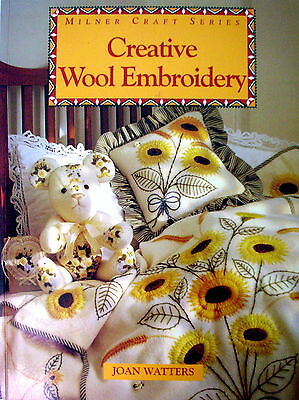 Milner Craft Series - CREATIVE WOOL EMBROIDERY - Stitches Designs Projects - VGC