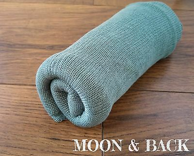 Jade Newborn Stretch Knit Soft Wrap Baby Photo Photography Prop 60 x120cm
