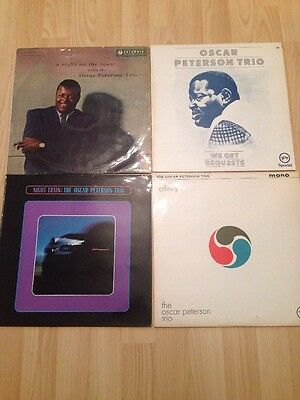 Vintage Oscar Peterson Trio Vinyl X 4 Affinity Night Train We Get Requests And