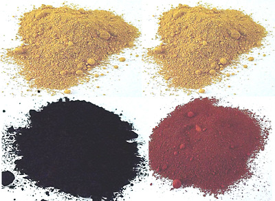 Yellow Red Black Oxide Cosmetic Grade Natural Mineral Makeup Foundation Pigment