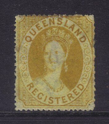 Queensland Sg 11,Sc# F1; Registered Small Star Mint,Very Scarce.