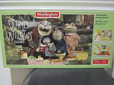 """Waddingtons """"The Wind in the Willows"""" Vintage Board Game! Complete & VGC"""