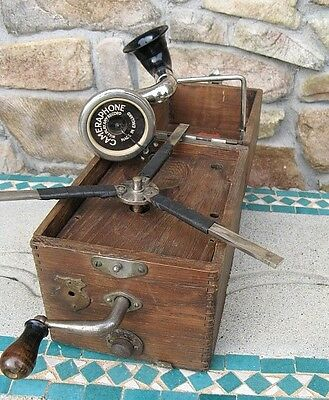 Antique Cameraphone Portable Gramophone Record Player