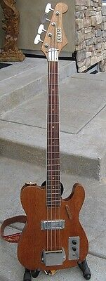 Custom Made Telecaster Bass Electric Bass Guitar