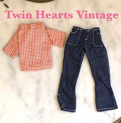 Vintage 60s Tressy Doll Outfit Lazy Days #10908