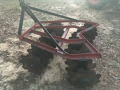 16 Disc 3 Point Hitch Harrow