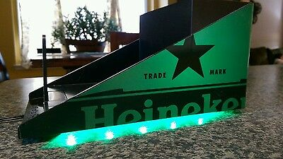 Heineken LED Napkin Holder with 2 USB Ports - NEW & F/S  - Unique Made In USA