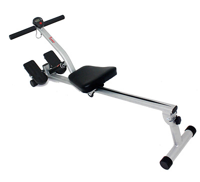 Rowing Machine with 12 Adjustable Resistance by Sunny Health & Fitness –