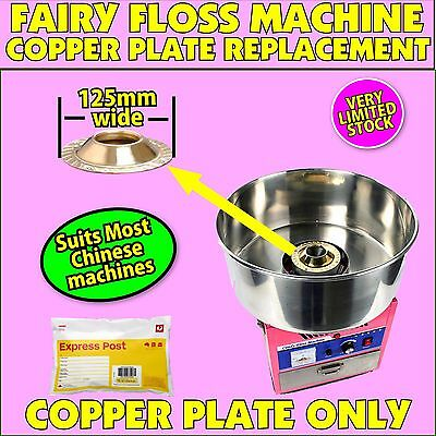 Fairy Floss Machine COPPER TOP PLATE spare part Suits Chinese Machines