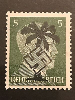 "Germany NORTH AFRICA ""WWII-GERMAN OCCUPATION"" 5 pfg MNH  Private Issue"